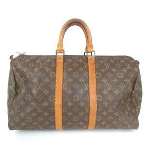 Auth Louis Vuitton Keepall 45 Boston #3861L19